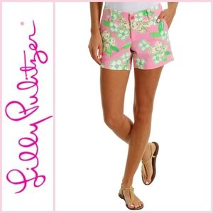 Lilly Pulitzer Callahan Short Pretty Pink Tootie